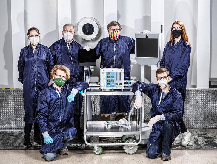 A NASA által kifejlesztett lélegeztetőgép