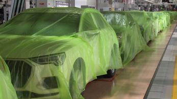 Nézzen szét a győri Audi-gyár álló futószalagjai között!