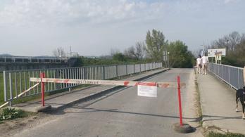 Budakalász blokkolja a Megyeri hidat a kerékpárosok elől