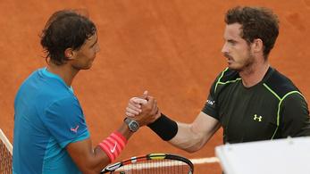 Nadal és Murray összekerült a virtuális tenisztornán