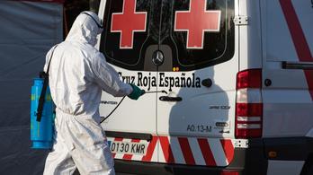 Madridban már száz alatt van a koronavírus napi áldozatainak száma