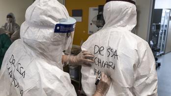 150 olasz orvos halt bele a koronavírus-fertőzésbe a járvány kitörése óta