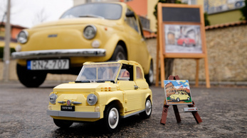 Fiat 500 Lego-modell