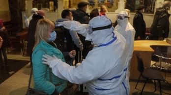 Ukrajna már világelső a koronavírusos egészségügyi dolgozók számában