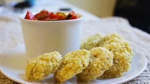 Mennyei húsmentes fasírt: kölesből, glutén- és tojásmentesen