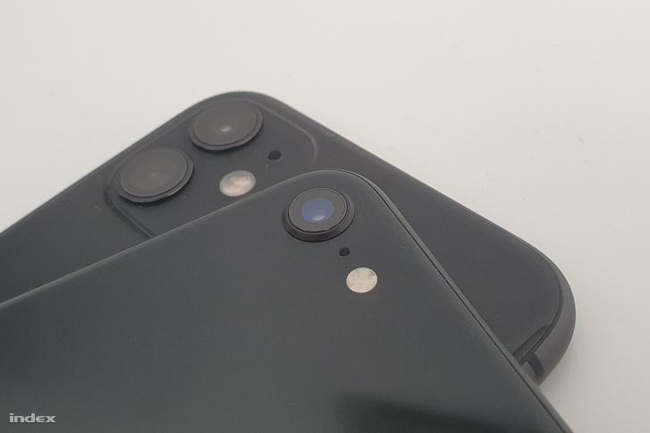 Egyszerűbb az iPhone SE kamerája