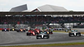 Nézők nélkül tartják meg az idei F1-es Brit Nagydíjat