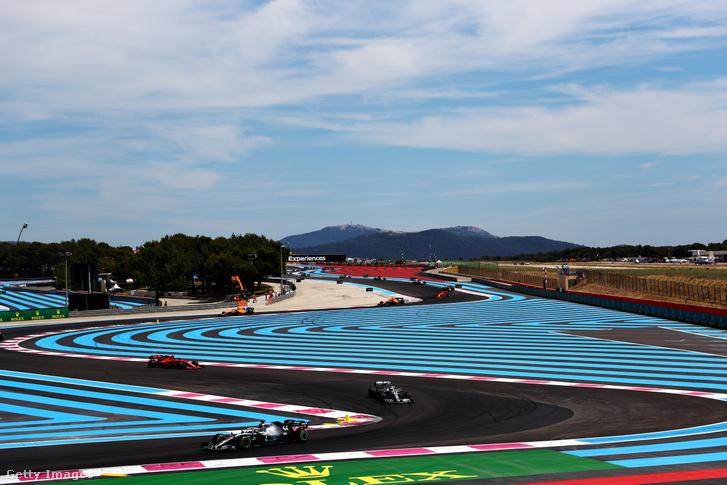 Lewis Hamilton a 2019-es Francia Nagydíjon
