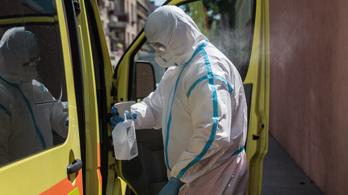 Öt megyében már csúcsot döntött a koronavírus harmadik hulláma