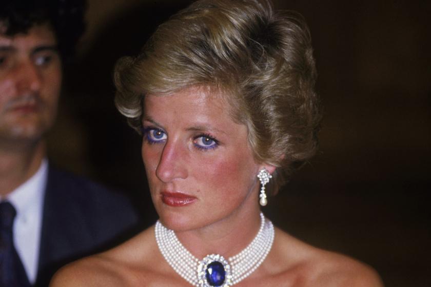 Diana hercegnő hófehér estélyiben keltett feltűnést Budapesten: 30 évvel ezelőtt járt hazánkban
