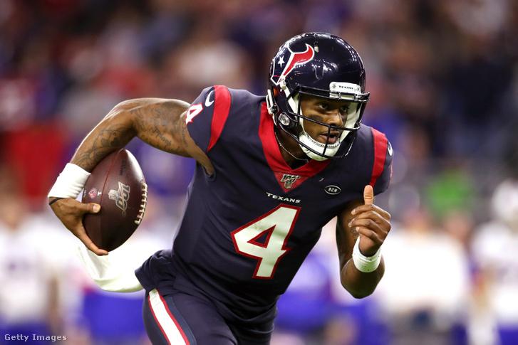 Deshaun Watson, a Houston Texans irányítója lehet a Patriots egyik kiszemeltje 2021-re