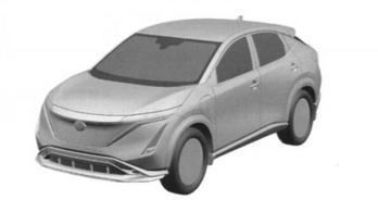 Ez lenne a szériagyártású Nissan Ariya?