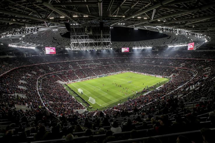 A Puskás Aréna nyitó mérkőzése 2019. november 15-én