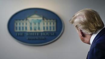 Nem tart sajtótájékoztatót Trump járványügyi munkacsoportja