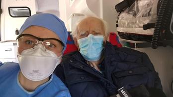 Százéves koronavírus-fertőzött gyógyult meg Varsóban