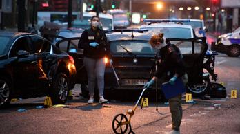 Szándékosan rendőrök közé hajtott egy autós Franciaországban