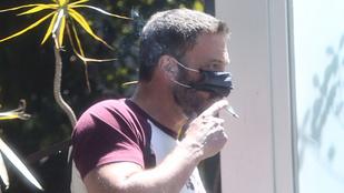 Oké, miért érdekes annyira, hogy Ben Affleck így cigizik?