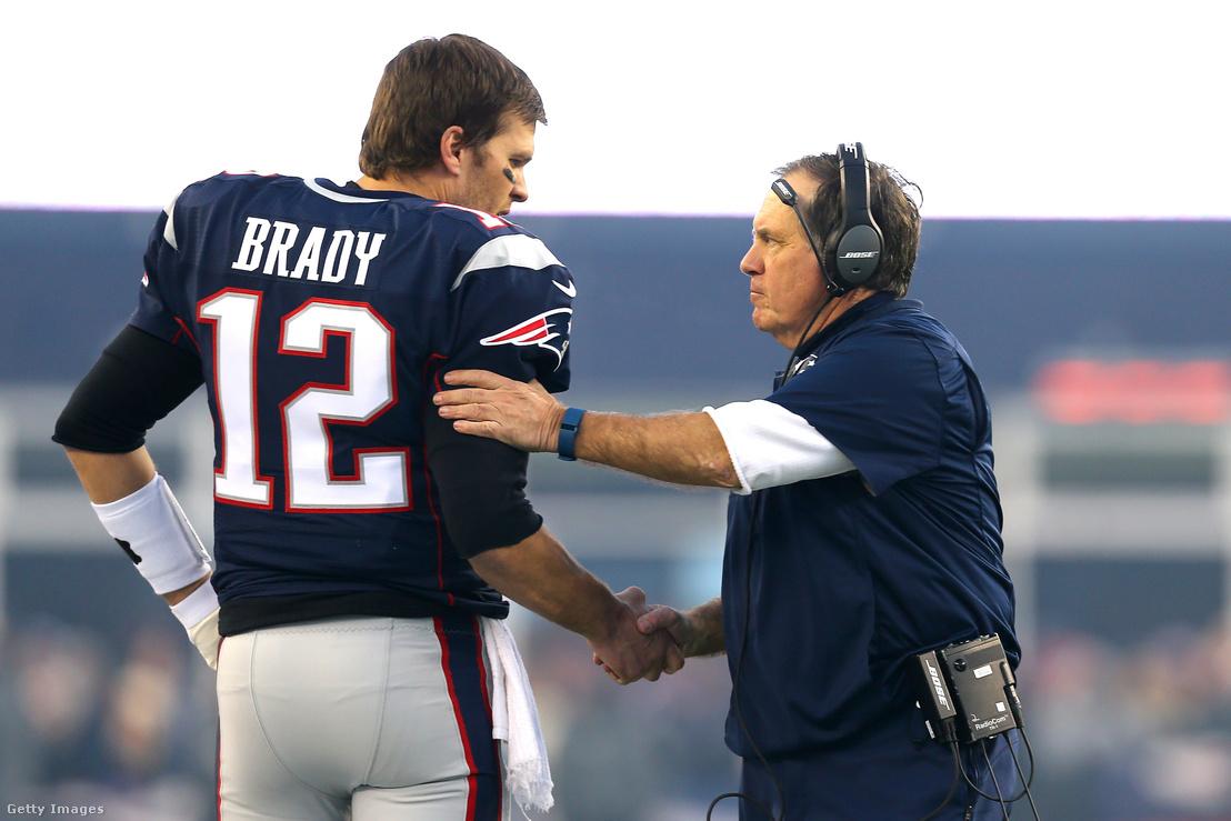 Két évtized után vége Brady és Belichick kapcsonatának