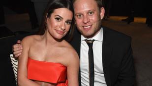 Terhes a Glee sztárja, Lea Michele
