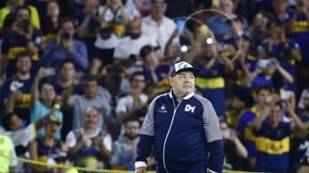 A járvány mentette meg Maradona csapatát a kieséstől
