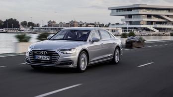 Mégsem készül önvezető Audi A8-as