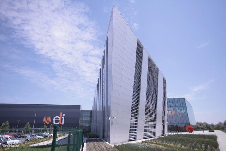 A szegedi ELI-ALPS épülete