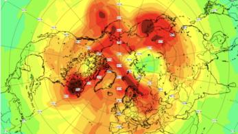 Bezárult a rekordméretű ózonlyuk az északi sarkkör felett