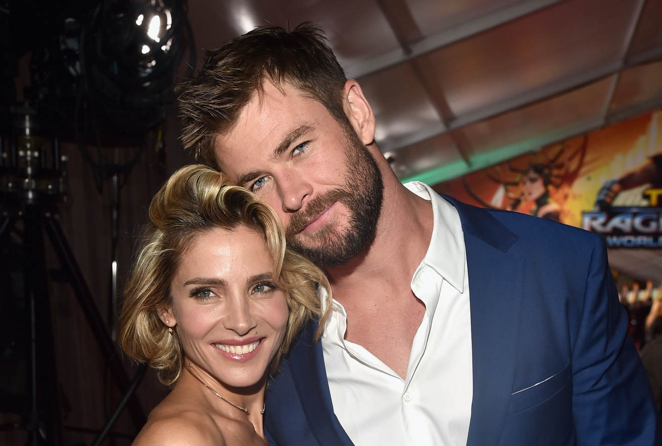 chris hemsworth és elsa pataky cover