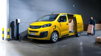 Ősszel jön az Opel villany-furgonja