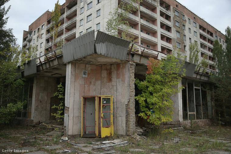 Ha azt mondjuk, ez a kép Pripjatyban készült, valószínűleg nem érti, miért van ilyen elhanyagolt állapotban a város