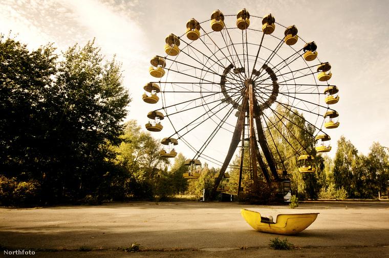 A városban egykor 49 ezer ember élt, akiket 1986-ban, a csernobili reaktor robbanása után egytől egyig evakuáltak