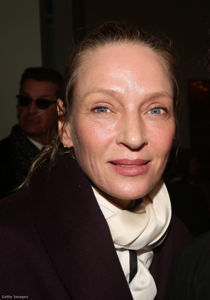Ez pedig az utolsó kép, ami nem sokkal a karantén beállta előtt, idén február végén készült az ekkor még 49 éves színésznőről
