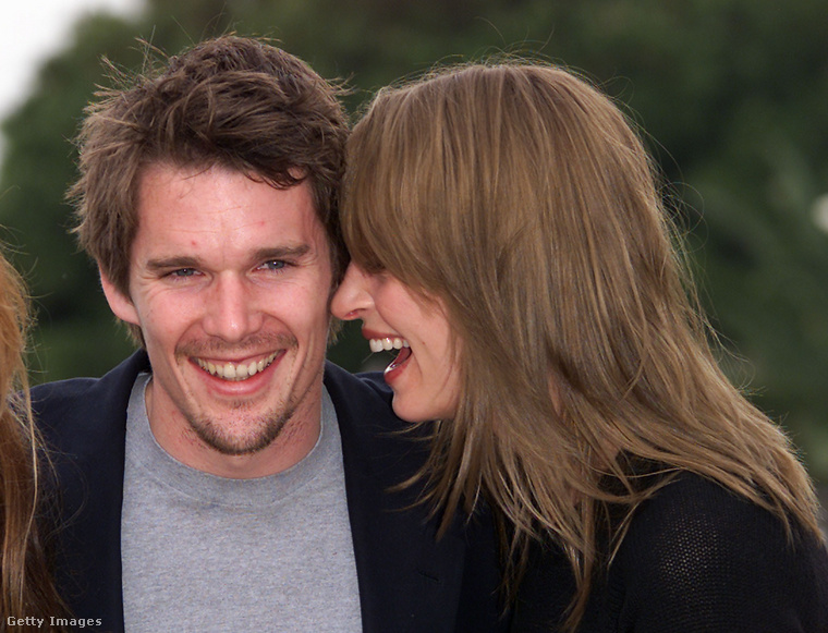 Hawke és Thurman 1998-tól 2005-ig voltak házasok, két gyerekük született