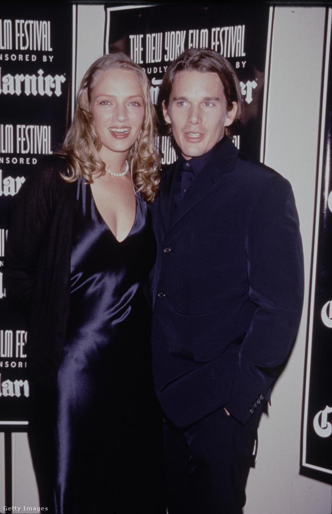 Thurman az első férjét az 1990-es State of Grace (A pokol konyhája) című film forgatása közben ismerte meg