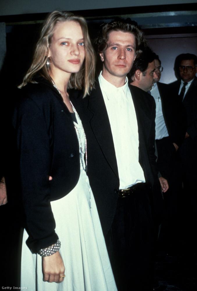 Felismeri, ki áll a 20 éves Uma Thurman mellett ezen a kb