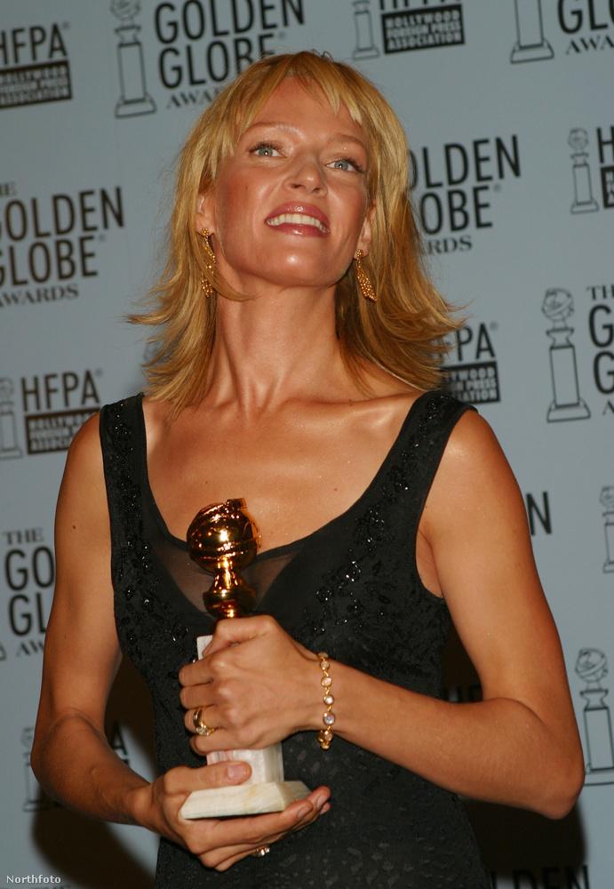 A legkomolyabb színészi díj, amit Thurman eddigi pályája során elnyert, egy Golden Globe volt, amit 2003-ban kapott meg a Hysterical Blindness című tévéfilmben nyújtott alakításáért.