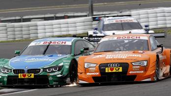 Az Audi kiszáll, egyedül maradt a BMW a DTM-ben