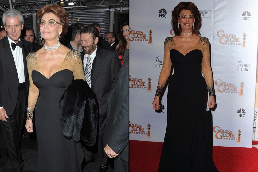 Először 2009 novemberében egy koktélpartira vette fel, majd 2010-ben a Golden Globe-díj-átadón is ugyanabban a darabban jelent meg.