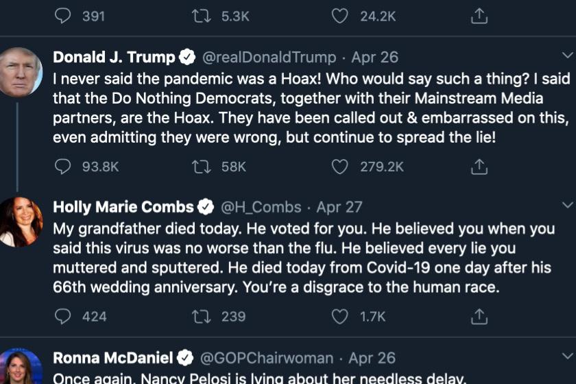 holly marie combs trump beszólás