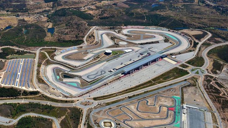 Az Algarve versenypálya a levegőből