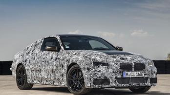 Gyári kémfotókon a 4-es BMW