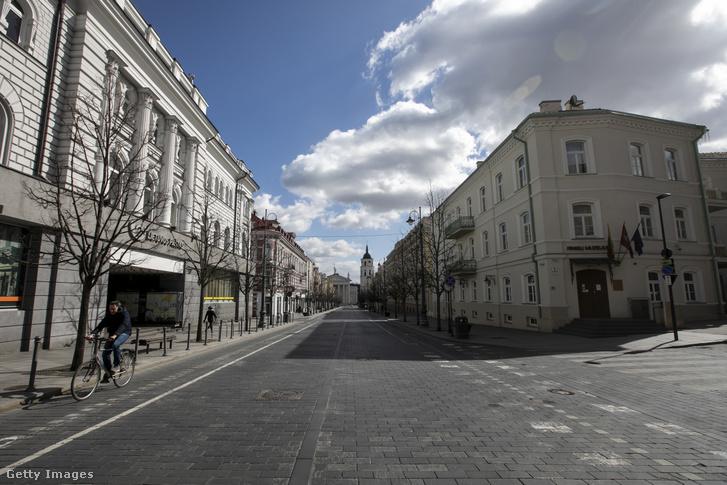 Vilnius 2020. április 3-án.