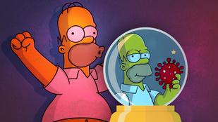 Lehetséges, hogy a Simpson család már 20 éve megjósolta a koronavírust?
