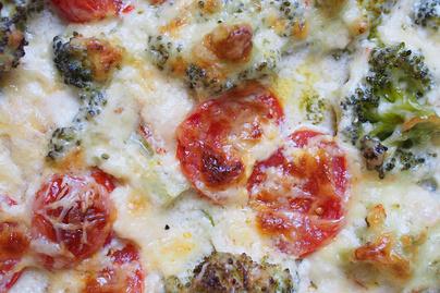 Villámgyors egytepsis fogás: selymes tejszínes szószban sülnek a zöldségek