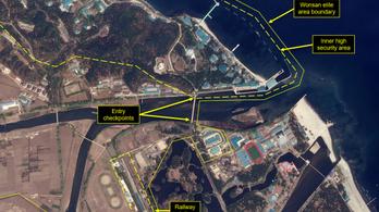 Kim Dzsongun luxusrezidenciára menekülhetett a koronavírus elől