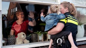 A svájci kisgyerekek már megölelhetik a nagyszüleiket