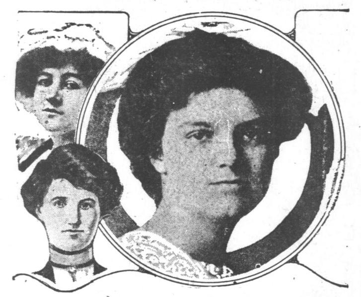 Ruth Cruger és két másik eltűnt lány portréja