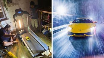 Így kell játék Lamborghinit fotózni, hogy igazinak tűnjön