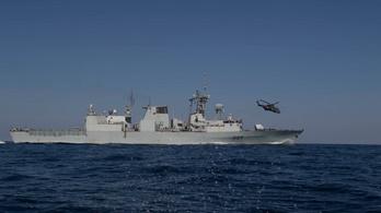 A Földközi-tengerbe zuhant egy kanadai katonai helikopter