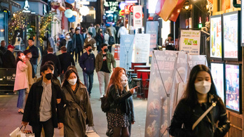 Dél-Koreában két és fél hónap után először nincs új helyi fertőzés